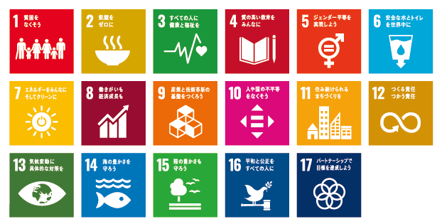 Sustainable Development Goals 17のゴール